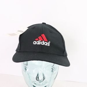 New 90s Adidas Spell Out Snapback Cotton Dad Hat